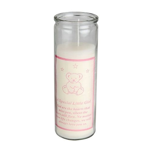 Memorial Little Girl Candle 18 cm